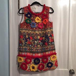 Prada *dupe* Pom Pom shirt dress